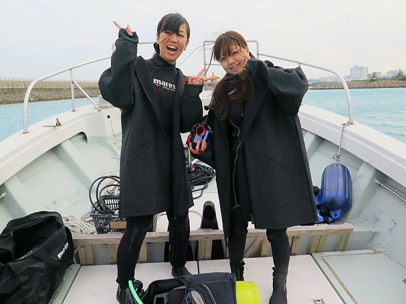 ボート体験ダイビング!!!!!