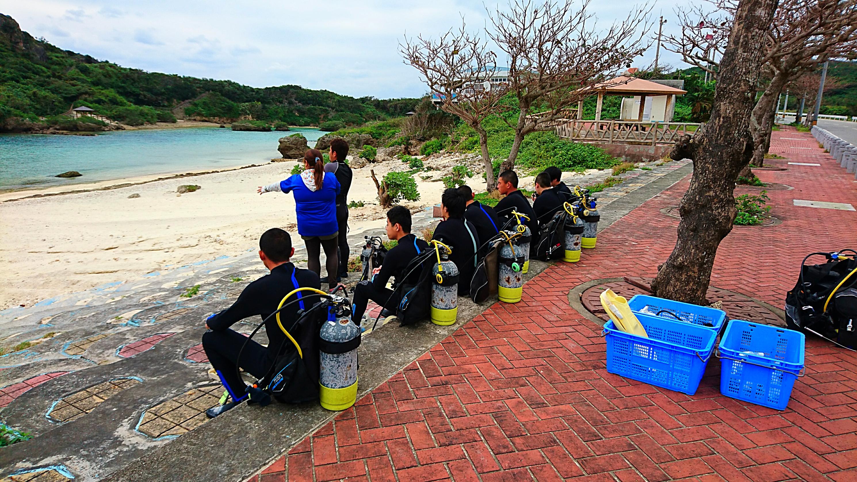 体験ダイビング!!!